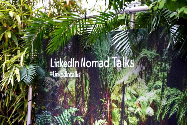 Linkedin digital nomads event